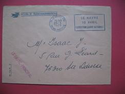Le Havre  1975  EMA   Exposition Canine Nationale   Oblitération Pour Ste Adresse - Poststempel (Briefe)