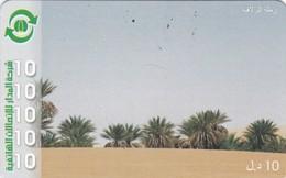 Libya, Prepaid G, Palms In The Desert. - Libya
