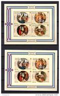 1980, Noël I, BF 112 ** + Non Dentelés, Cote 44 €, - Burundi