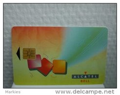 Alcatel Bell First Phonecard Belgium Number A Rare - België
