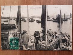 Douarnenez.le Port.pêcheurs De Sardines.édition Moka Leroux - Douarnenez