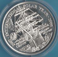 FALKLAND ISLANDS 1 CROWN 2007  INTERNATIONAL POLAR YEAR  Bateau  QEII - Falkland Islands