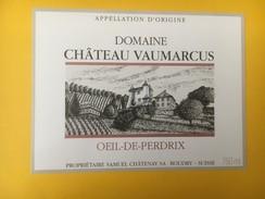 4996 - Domaine Château De Vaumarcus Oeil De Perdrix Samuel Châtenay  Neuchâtel  Suisse - Etiquettes