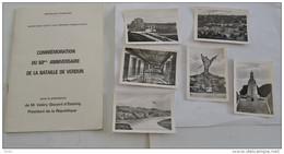 COMMEMORATION DU 60 EME ANNIVERSAIRE DE LA BATAILLE DE VERDUN +6 CARTE PHOTO - Books