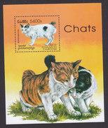 Cambodia, Scott #1713, Mint Hinged, Cats, Issued 1998 - Cambodja