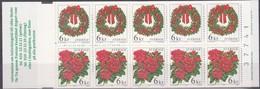 Sverige Suède Zweden 1998 Carnet C2066 ***  MNH 60 Kr. Cote 27,50 Euro Flore Bloemen Flowers Fleurs Noël Kerstmis - Carnets