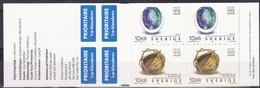Sverige Suède Zweden 2002 Carnet C2279 ***  MNH 40 Kr. Cote 20,00 Euro - Carnets