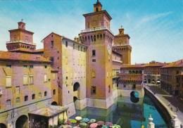 Italy Ferrara Il Castello e Corso Martiri della Liberta