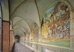 Italy Siena Abbazia di Monte Oliveto Chiostro Grande