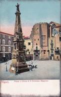 Spain Napoli Piazza e Chiesa si San Domenico Maggiore