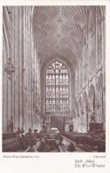 England Bath Abbey The West Window