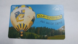 Austria-(f453)-peterle Air 1-(20e)-(907l)-tirage-760-used Card+1 Card Prepiad Free - Autriche