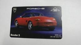 Austria-(f464)-porsche Voxter S-(50e)-(909l)-tirage-610-used Card+1 Card Prepiad Free - Autriche