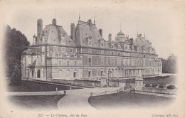 CPA Eu - Le Château, Côté Du Parc  (30313) - Eu