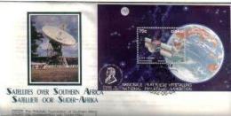 CISKEI, 1992, Mint F.D.C., MI 219ms, Satellites, - Ciskei