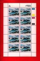TRANSKEI, 1994, Mint Stamps In Full Sheets, MI 315-318, Shipwrecks, S765 - Transkei