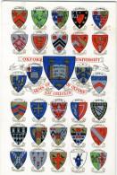 REGNO UNITO  OXFORD  Arms Of Oxford  The Colleges  University - Oxford