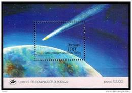 Portugal 1986 Yvertn° Bloc 52 *** MNH Cote 15 Euro Comète De Halley - Blocchi & Foglietti