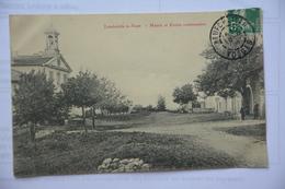LANDAVILLE-le-HAUT-mairie Et Ecole Communale - France