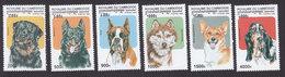 Cambodia, Scott #1734-1739, Mint Hinged, Dogs, Issued 1998 - Cambodia