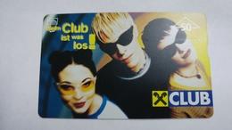 "Austria-(f491)-raiffeisen-club 4""-(50e)-(002l)-tirage-5.185-used Card+1 Card Prepiad Free - Autriche"
