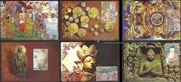 2550 Years Of Buddha's Mahaparinirvana Indian Max Cards Maximum  Shakyamuni Gautam Buddha Nirvana Buddhism Bodh Gaya - Buddismo
