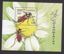 Cambodia, Scott #1747, Mint Hinged, Insects, Issued 1998 - Cambodia