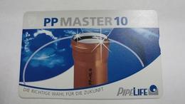 Austria-(f493)-PP Master 10(20e)-(003l)-tirage-1.260-used Card+1 Card Prepiad Free - Autriche