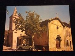 Corbières L Eglise Et La Poste Cpm - Otros Municipios