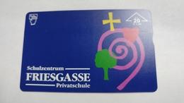 Austria-(f496)-schulzentrum Friesgasse(20e)-(003l)-tirage-1.260-used Card+1 Card Prepiad Free - Austria