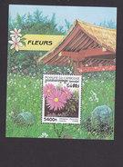 Cambodia, Scott #1764, Mint Hinged, Flowers, Issued 1998 - Cambodge