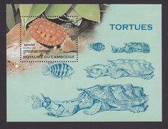 Cambodia, Scott #1771, Mint Hinged, Turtles, Issued 1998 - Cambodia