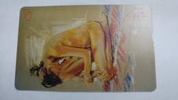 Austria-(f506)-kunst-H.margreiter-(20e)-(004l)-tirage-760-used Card+1 Card Prepiad Free - Autriche