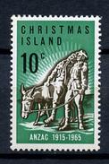 1965 - CHRISTMAS ISLAND - Catg. Mi. 21 - LH - (R-SI.331.713 - 11) - Christmas Island