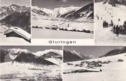 Switzerland Gluringen Multi View 1970 Photo - VS Valais