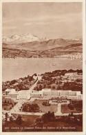 Switzerland Geneve Le Nouveau Palais des Nations et le Mont Blan
