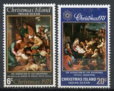 1971 - CHRISTMAS ISLAND - Catg. Mi. 37/38 - NH - (R-SI.331.713 - 11) - Christmas Island