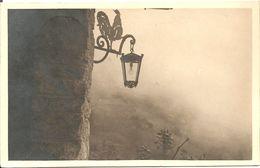 CHAMPORCHER - INSEGNA ALBERGO CHAMPORCHER GIA' COQ - FORMATO PICCOLO - VIAGGIATA 1935 - (rif. R52) - Altre Città