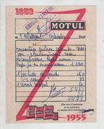 Les Avenières 1955 Garage Central Motul Vélosolex - Automobile