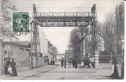 """77 VILLENOY BELLE CPA 1908 """"LE TRANSPORTEUR AERIEN DE LA SUCRERIE"""" - Villenoy"""