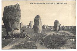CARNAC - Alignements Du Ménec - Dolmen & Menhirs