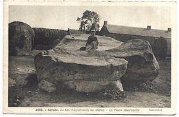 CARNAC - Alignements Du Ménec, La Pierre Résonnante - Dolmen & Menhirs