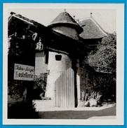 PHOTO Photographie Château De 74 LUCINGES Haute-Savoie - HOSTELLERIE (entrée) - Luoghi