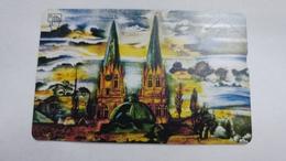 Austria-(f515)-kunst-michael L.lomani-(20e)-(006l)-tirage-760-used Card+1 Card Prepiad Free - Autriche