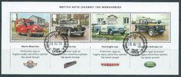 GROSSBRITANNIEN GRANDE BRETAGNE GB 2013 M/S BRITISH AUTO LEGENDS WORKHORSES SG MS3518 MI B84-3509-12 YT F3910-13 SC SH32 - Blocs-feuillets