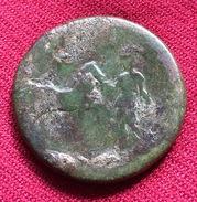 HADRIANUS, AE SESTERTIUS, 23. G34r. II C.A.D, EXCELLENT PORZELLAN (CHINA) PATINA, MAURETANIA REVERSE, RARE (38) - 3. Les Antonins (96 à 192)