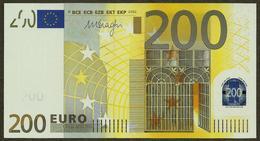 Germany - 200 Euro - E003 A1 - X06200949035 - Draghi - UNC - EURO
