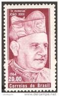 BRAZIL # 980    Pope John XXIII -  1964 - Brazil