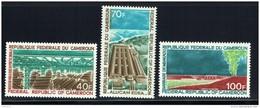 1971  Industrialisation: Parc à Bois, Aluminerie, Barrage De Mbakou  ** - Cameroon (1960-...)