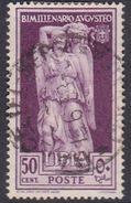 Italy-Colonies And Territories-Libya S 155 1938 Augustus Birth Bimillenary,50c Lilac,used - Libya